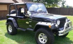 Extra Clean Jeep Wrangler 1997