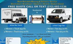 Fast Eddies and Omar's Nyc Moving Service