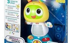 Fisher-Price Bright Beats Dance and Move BeatBo Toy