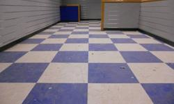 Floor refinishing, Buffing, waxing