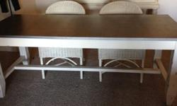 For Sale: Dining Table and Chairs