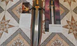 Franklin Mint! Lord of the Rings Glamdring Sword
