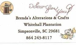 Free Brenda's Alterations & Crafts