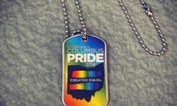 Free Columbus Pride Entrance Dog Tags
