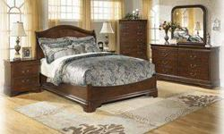 Free FREE LAYAWAY!! Queen MASTER BEDROOM SET by ASHLEY-NEW!!