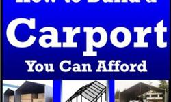 Free How to Build a Portable Carport eBook - Free Today