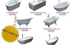 Free Standing Bath Tubs at Great Prices
