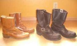 Frye engineer motorcycle boots, timberland boots, puma