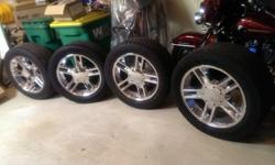 "Full Set of 20"" F-150 Harley Davidson Edition Chrome Factory"