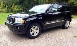 Fully Loaded 2006 Jeep Grand Cherokee Limited 4.7L V8