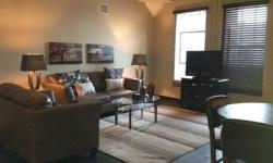 Furnished 2 Bedroom Loft in the River Market