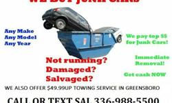 Get More Cash for Your Junk Cars Call//Text [phone removed]