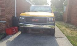 GMC Sierra 2500 HD Ext Cab 4x4 with snow plow