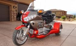 Goldwing 2008 Honda Goldwing Trike RoadSmith Conversion