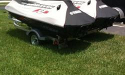 Good Condition 2 x 2009 Yamaha - FZS PWC Jetski's With