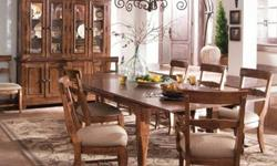 Gorgeous table! Elegant French Country dining room table
