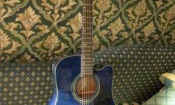 "Greg Bennett acoustic/electric ""eden plains"" guitar"