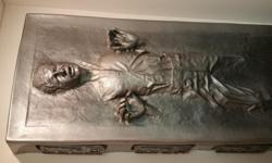 Han Solo in Carbonite Life-Sized Movie Replica