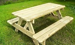 Hand made outdoor furniture and decors