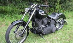 "Harley Davidson Night Train Chopper Touring ""2008"""