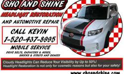 Headlight Restoration & Automotive repair
