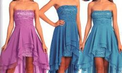 Hi-Low Dresses for Prom