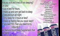 Hiburn8-helps you sleep & lose weight