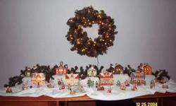 Home Interiors & Gifts Christmas Village