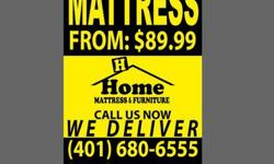 Home Mattress and Furniture - twin size, full size, queen