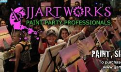 Host Your Own Paint Party Event