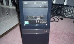 HP DX7500 Intel Core 2 Duo 2.8 GHz 320 GB HD 4 GB RAM Win 7