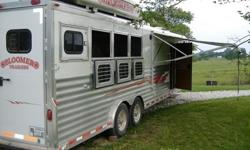 hq 2004 Bloomer 4 Horse Trailer