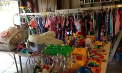 Huge garage sale 9/7/2013--HUNDREDS of children's items!!
