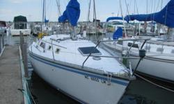 Hunter 31 Sailboat