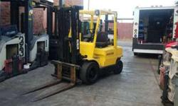 Hyster Forklift 1996 / *Negotiable* / 3 Stage / Side Shift -