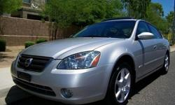 I am selling well kept 2003 Nissan Altima 4door