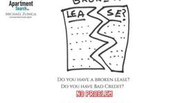 I am the BROKEN LEASE SPECIALIST | Apartment Finder | San