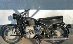 immaculate~1967 BMW R69S Triple Matching #'s~