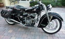 Indian : 1946 Indian Chief Roadmaster
