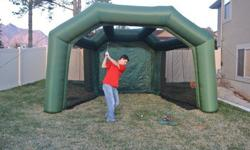 Inflatable Golf Cage Rental in Utah
