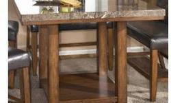 Inlaid Marble Top Dining Table - Moving Out Sale!
