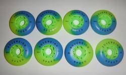 Inline Wheels 76mm and 80mm