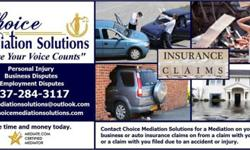 Insurance Claims - Need an Attorney or Mediator