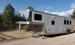 j73s1fv3 2004 Kiefer 3 horse trailer w living quarters