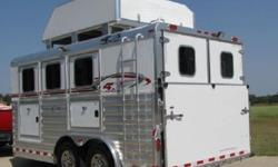 "jo2012 Trailer 4-Star 3 Horse BP 16""Slant Load"