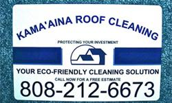 Kama'aina Roof Cleaning