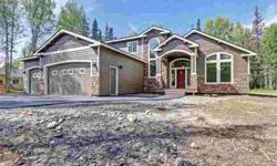 L2 Well Site Road Wasilla Four BR, Another GORGEOUS home by
