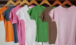 ladies t shirts 100 % 1. 50 $ wholesale clothing company