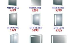 LED Mirrors at great prices