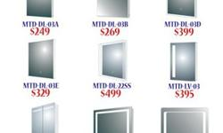 LED Mirrors for your Bathroom at GREAT PRICES
